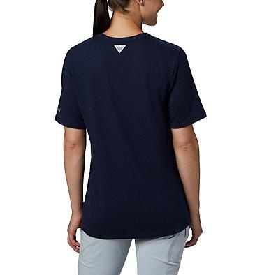 Women's PFG™ Triangle T-Shirt W PFG™ Triangle Tee SS | 464 | M, Collegiate Navy, Dolphin, back