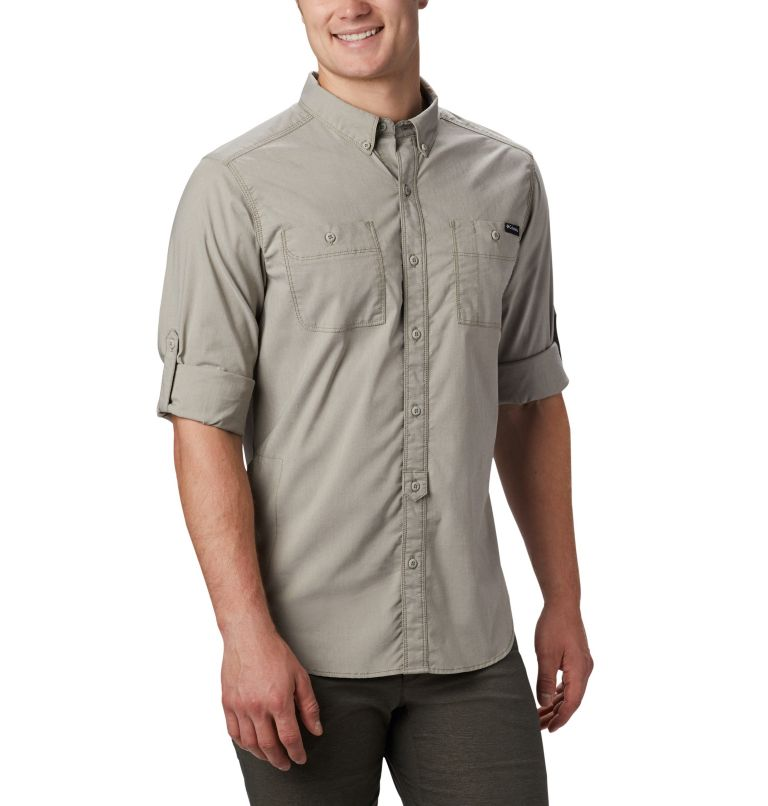 Men's Outdoor Elements™ Long Sleeve Chambray Shirt Men's Outdoor Elements™ Long Sleeve Chambray Shirt, a1