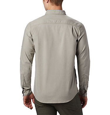 Men's Outdoor Elements™ Long Sleeve Chambray Shirt Outdoor Elements™ LS Chambray Shirt   365   M, Sage Chambray Oxford, back