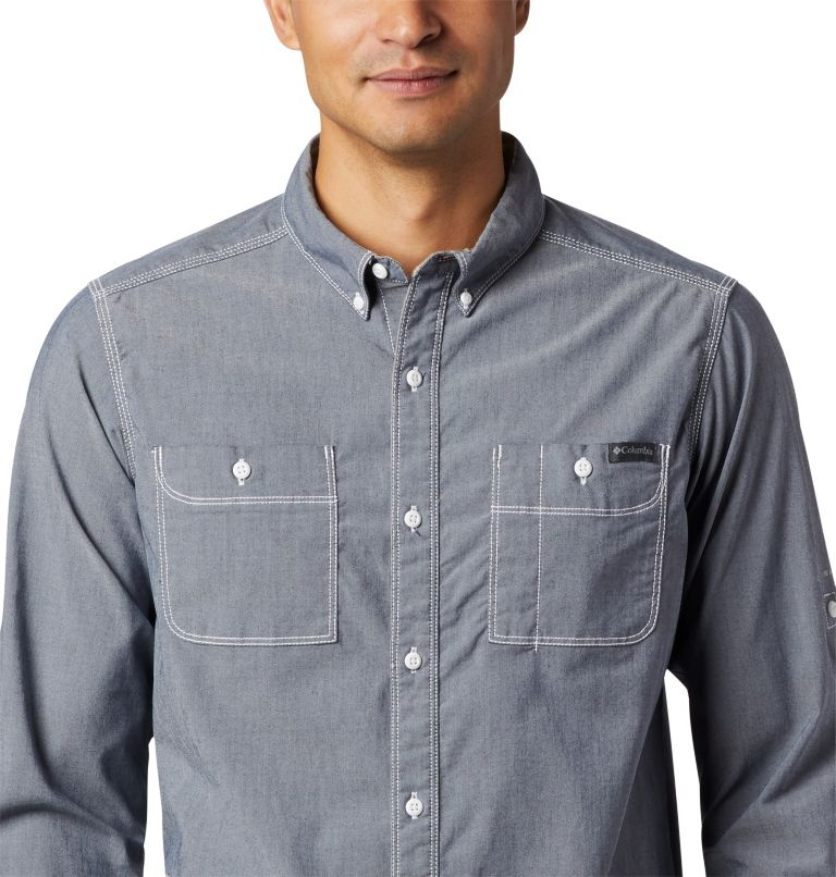 Men's Outdoor Elements™ Long Sleeve Chambray Shirt Men's Outdoor Elements™ Long Sleeve Chambray Shirt, a2