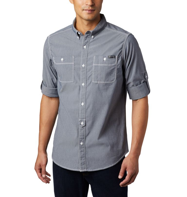 Chemise à manches longues en chambray Outdoor Elements™ pour homme Chemise à manches longues en chambray Outdoor Elements™ pour homme, a3
