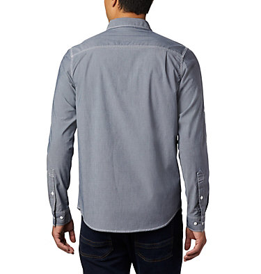 Chemise à manches longues en chambray Outdoor Elements™ pour homme Outdoor Elements™ LS Chambray Shirt | 464 | L, Collegiate Navy Chambray Oxford, back