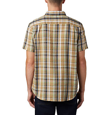 Men's Brentyn Trail™ Short Sleeve Seersucker Shirt , back