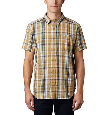 Men's Brentyn Trail™ Short Sleeve Seersucker Shirt , front