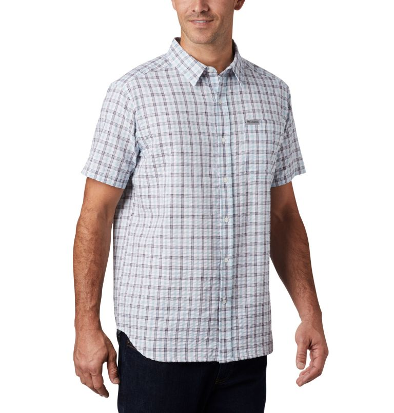 Men's Brentyn Trail™ Short Sleeve Seersucker Shirt Men's Brentyn Trail™ Short Sleeve Seersucker Shirt, a3