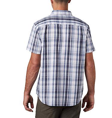 Men's Brentyn Trail™ Short Sleeve Seersucker Shirt – Big Brentyn Trail™ SS Seersucker Shirt | 427 | 1X, Mountain Plaid, back