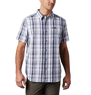 Men's Brentyn Trail™ Short Sleeve Seersucker Shirt – Big Brentyn Trail™ SS Seersucker Shirt | 427 | 1X, Mountain Plaid, front