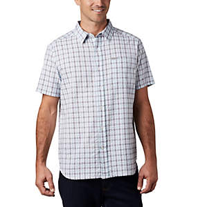 Men's Brentyn Trail™ Short Sleeve Seersucker Shirt – Tall