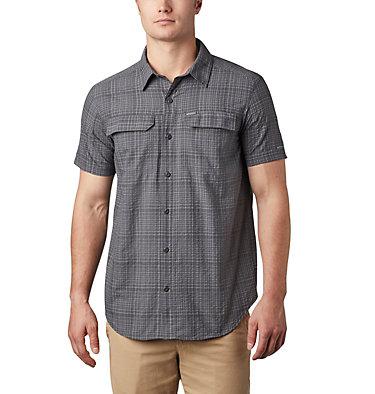 Chemise à manches courtes Silver Ridge™ en tissu gaufré pour homme Silver Ridge™ SS Seersucker Shirt | 478 | L, Shark Grid Plaid, front