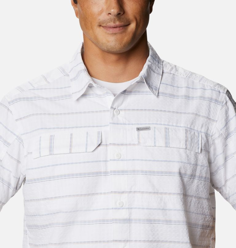 Men's Silver Ridge™ Short Sleeve Seersucker Shirt Men's Silver Ridge™ Short Sleeve Seersucker Shirt, a2