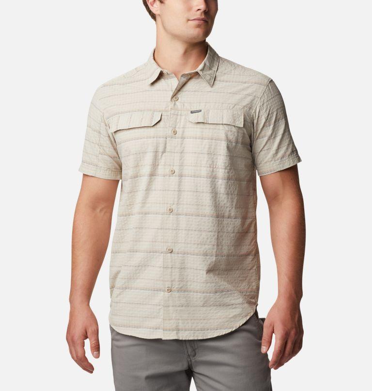 Men's Silver Ridge™ Short Sleeve Seersucker Shirt Men's Silver Ridge™ Short Sleeve Seersucker Shirt, front