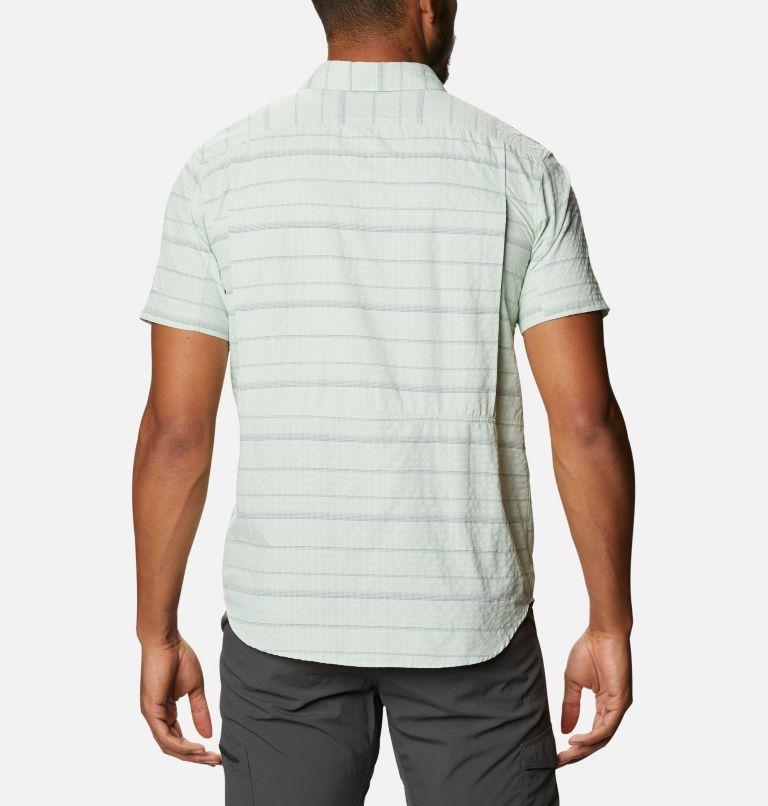Men's Silver Ridge™ Short Sleeve Seersucker Shirt Men's Silver Ridge™ Short Sleeve Seersucker Shirt, back