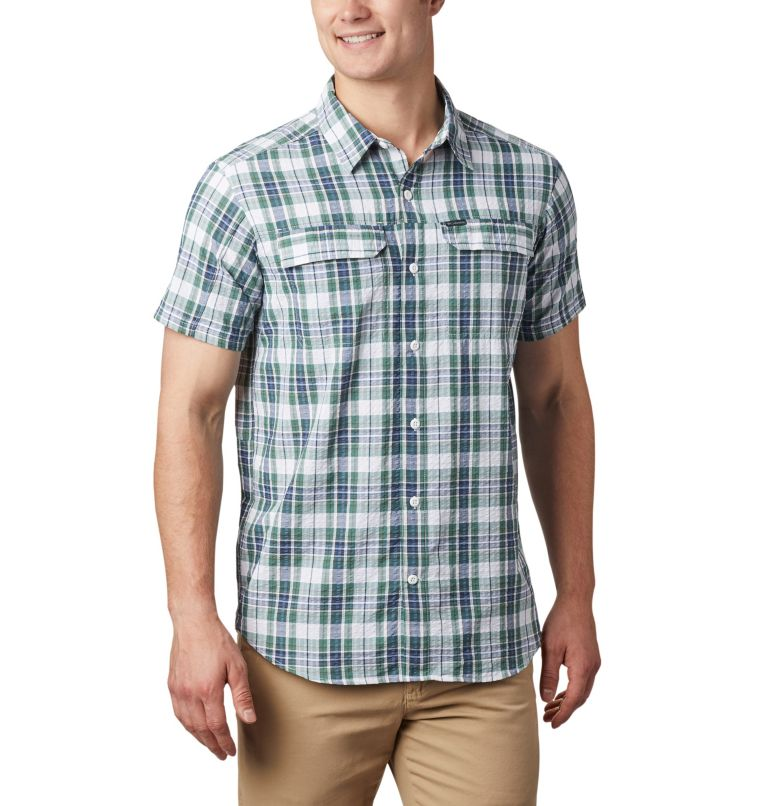 Chemise à manches courtes Silver Ridge™ en tissu gaufré pour homme Chemise à manches courtes Silver Ridge™ en tissu gaufré pour homme, front