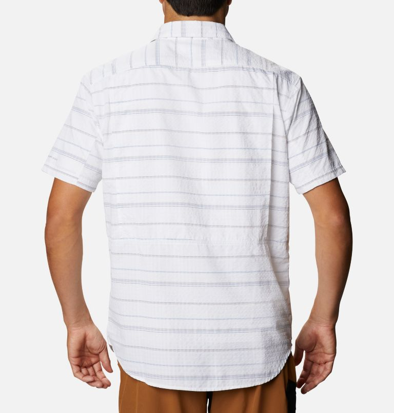 Men's Silver Ridge™ Short Sleeve Seersucker Shirt - Big Men's Silver Ridge™ Short Sleeve Seersucker Shirt - Big, back
