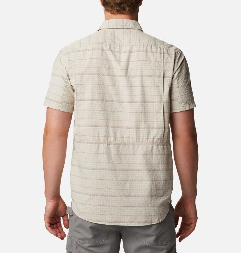 Men's Silver Ridge™ Short Sleeve Seersucker Shirt - Tall Men's Silver Ridge™ Short Sleeve Seersucker Shirt - Tall, back