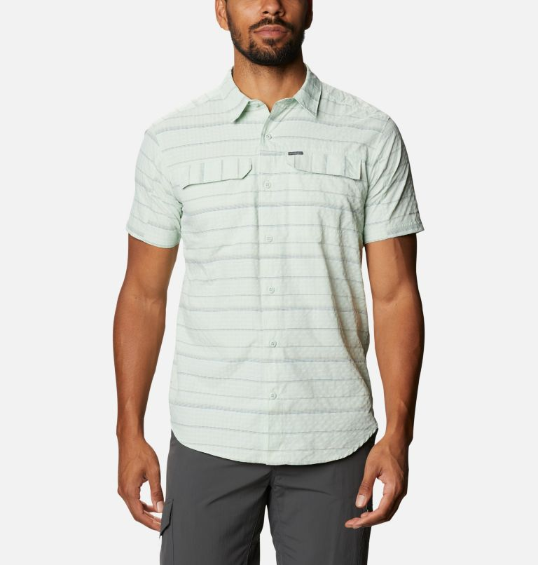Men's Silver Ridge™ Short Sleeve Seersucker Shirt - Tall Men's Silver Ridge™ Short Sleeve Seersucker Shirt - Tall, front