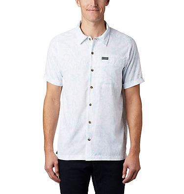 Men's Outdoor Elements™ Short Sleeve Print Shirt Outdoor Elements™ SS Print Shirt   428   L, Sky Blue Wild Trees, front