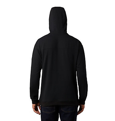 Chandail à capuchon en tissu éponge Columbia Lodge™ pour homme Columbia Lodge™ French Terry Hoodie | 100 | L, Black, City Grey, back