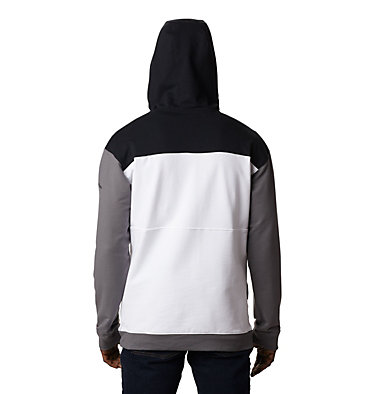 Chandail à capuchon en tissu éponge Columbia Lodge™ pour homme Columbia Lodge™ French Terry Hoodie | 100 | L, White, Black, City Grey, back