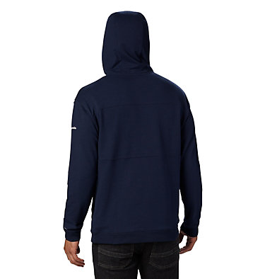 Men's Columbia Lodge™ French Terry Hoodie Columbia Lodge™ French Terry Hoodie | 011 | L, Collegiate Navy, White, back