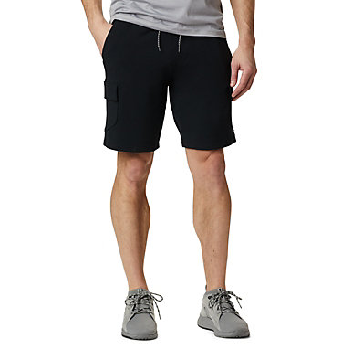 Men's Columbia Lodge™ Cargo Shorts Columbia Lodge™ Cargo Short | 010 | L, Black, front