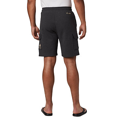 Men's Columbia Lodge™ Cargo Shorts Columbia Lodge™ Cargo Short | 010 | L, Shark Heather, back