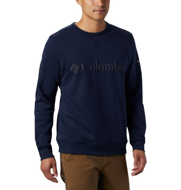 Men's Columbia™ Logo Fleece Crew Men's Columbia™ Logo Fleece Crew, a3