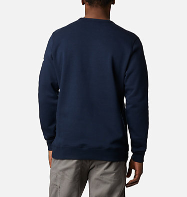 Men's Columbia™ Logo Fleece Crew M Columbia™ Logo Fleece Crew | 011 | S, Collegiate Navy Puff Logo, back