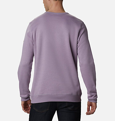 Men's Columbia™ Logo Fleece Crew M Columbia™ Logo Fleece Crew | 432 | L, Shale Purple Puff Logo, back