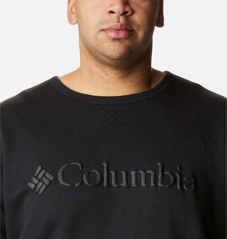Men's Columbia Logo Fleece Crew – Big Men's Columbia Logo Fleece Crew – Big, a2