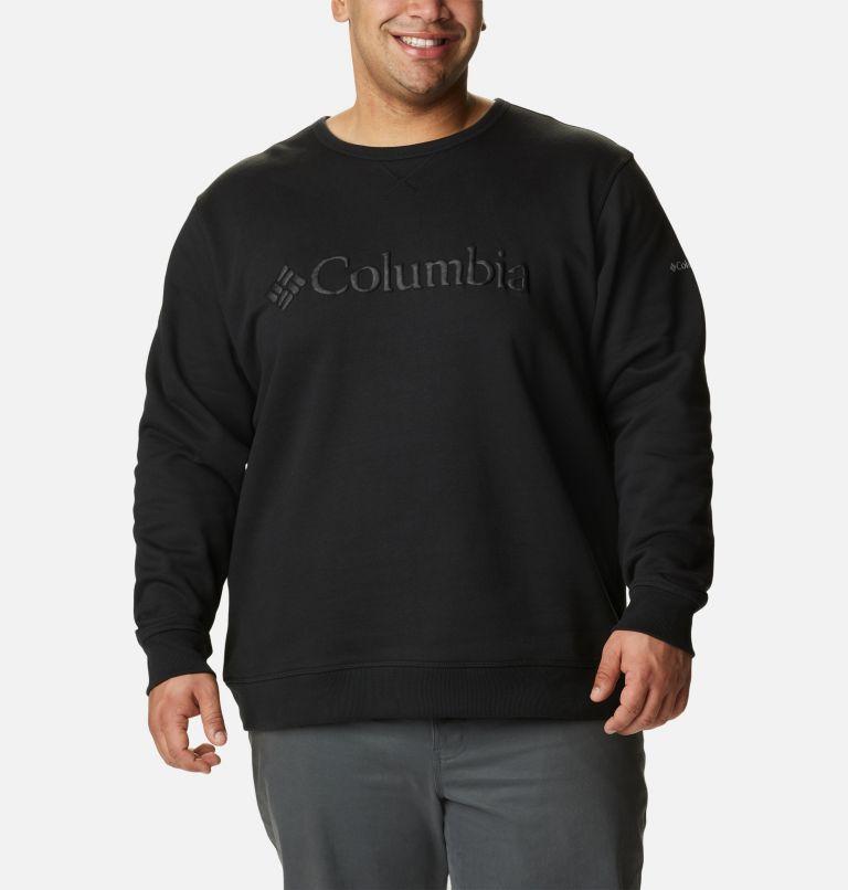Men's Columbia Logo Fleece Crew – Big Men's Columbia Logo Fleece Crew – Big, front