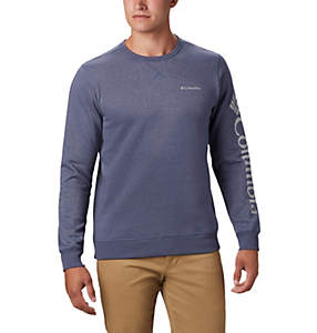 Men's Columbia™ Logo Fleece Crew – Big