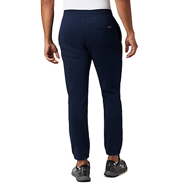 Men's Columbia™ Logo Fleece Jogger M Columbia™ Logo Fleece Jogger | 464 | L, Collegiate Navy, back