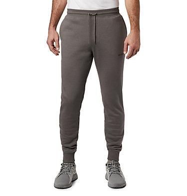 Pantalon de jogging en laine polaire Columbia™ Logo pour homme – Tailles fortes M Columbia™ Logo Fleece Jogger | 030 | 1X, Charcoal, front