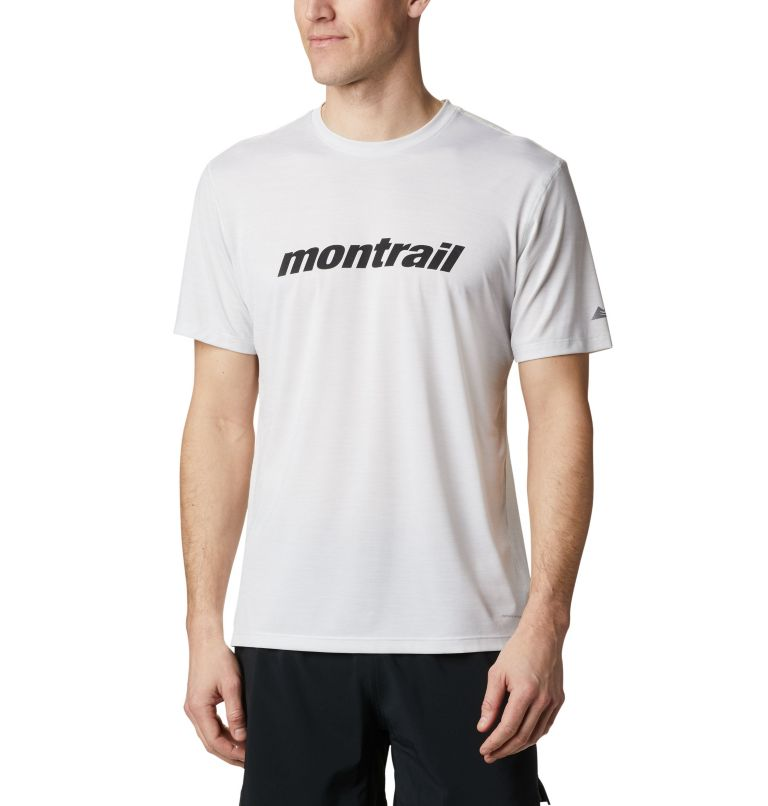 Trinity Trail™ Graphic Tee | 101 | M T-shirt Trail™ Homme, White, Race Day Tee, front