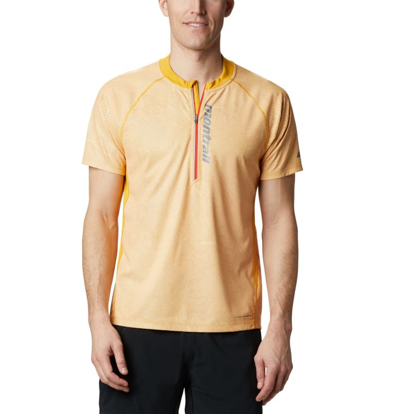 FKT™ SS Top | 790 | XL T-shirt FKT™ Homme, Bright Gold, front