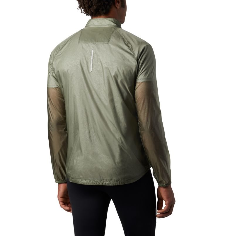 FKT™ Windbreaker Jacket | 316 | L Men's FKT™ Windbreaker Jacket, Cypress, back