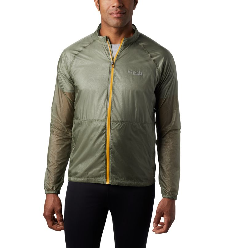 FKT™ Windbreaker Jacket | 316 | L Men's FKT™ Windbreaker Jacket, Cypress, front