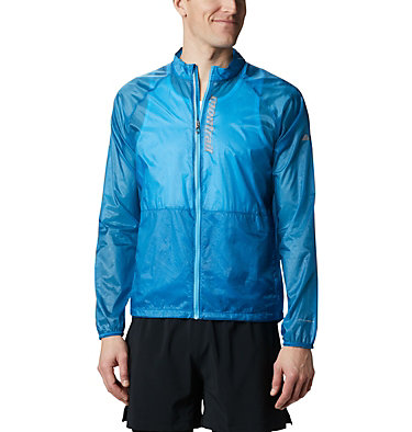 Men's FKT™ Windbreaker Jacket FKT™ Windbreaker Jacket | 440 | L, Dark Pool, front