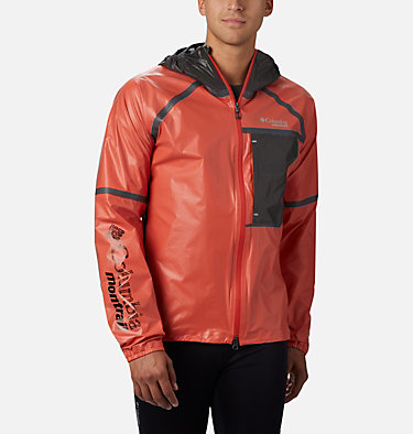 Men's OutDry Ex™ Lightweight Shell Jacket M Outdry Ex™  Lightweight Shell | 010 | L, Wildfire, front