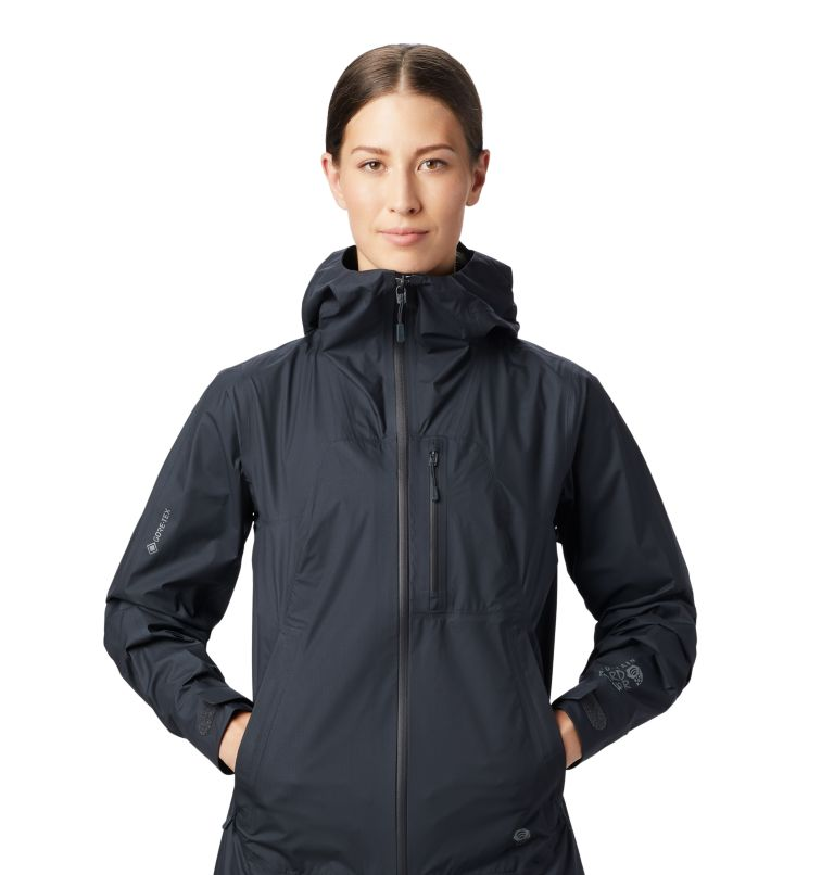 Exposure/2™ Gore-Tex® Paclite Plus Jkt | 004 | XS Women's Exposure/2™ Gore-Tex Paclite® Plus Jacket, Dark Storm, a1