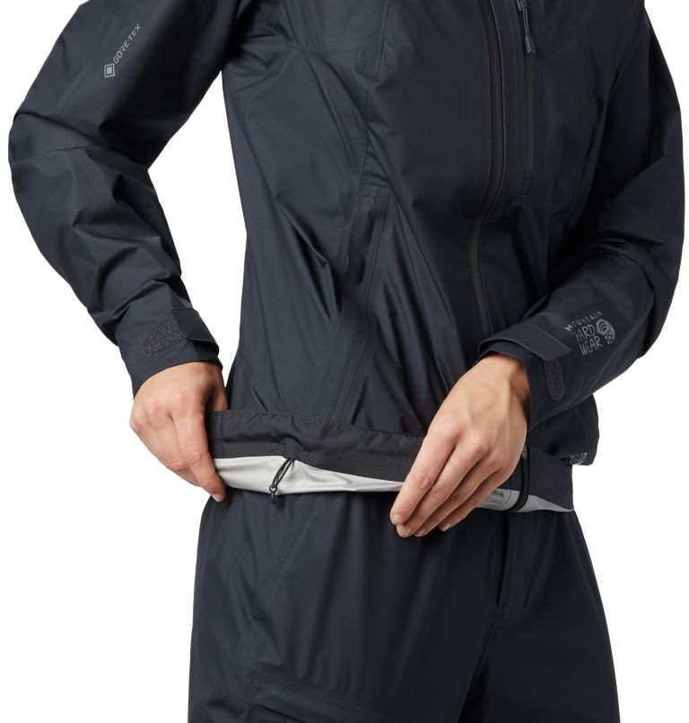 Exposure/2™ Gore-Tex® Paclite Plus Jkt | 004 | XS Women's Exposure/2™ Gore-Tex Paclite® Plus Jacket, Dark Storm, a3