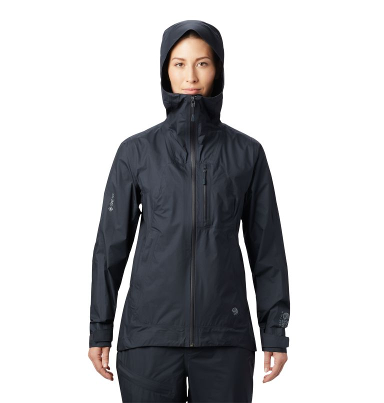 Exposure/2™ Gore-Tex® Paclite Plus Jkt | 004 | XS Women's Exposure/2™ Gore-Tex Paclite® Plus Jacket, Dark Storm, front