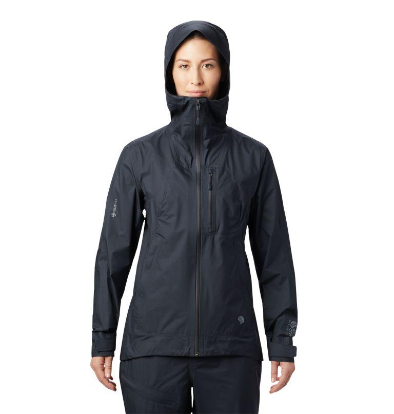 Exposure/2™ Gore-Tex Paclite® Plus Jacke | 004 | XS Women's Exposure/2™ Gore-Tex Paclite® Plus Jacket, Dark Storm, front