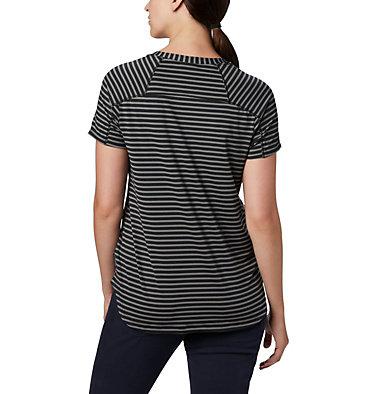 Women's Firwood Camp II Short Sleeve Shirt Firwood Camp™ II SS Tee | 101 | XS, Black Medium Stripe, back