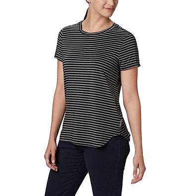 T-shirt à manches courtes Firwood Camp II pour femme Firwood Camp™ II SS Tee | 010 | L, Black Medium Stripe, front