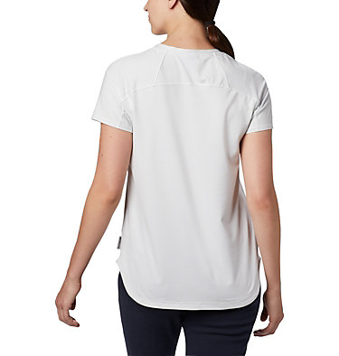 Women's Firwood Camp II Short Sleeve Shirt Firwood Camp™ II SS Tee | 101 | XS, White Small Stripe, back
