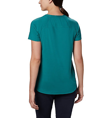 Women's Firwood Camp II Short Sleeve Shirt Firwood Camp™ II SS Tee | 101 | XS, Waterfall Small Stripe, back