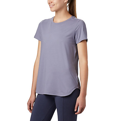 T-shirt à manches courtes Firwood Camp II pour femme Firwood Camp™ II SS Tee | 010 | L, New Moon Small Stripe, front