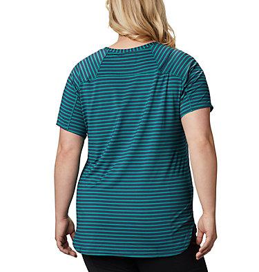 Women's Firwood Camp™ II Short Sleeve Shirt – Plus Size Firwood Camp™ II SS Tee | 556 | 2X, Waterfall Medium Stripe, back